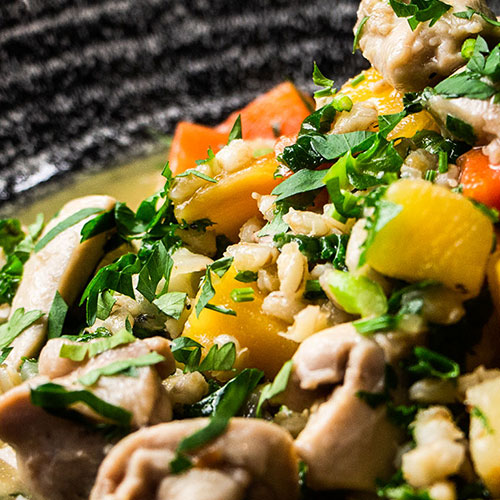 Chicken stew recipe - try it at home